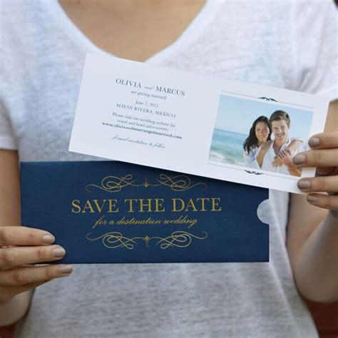 destination wedding save the date message in a bottle destination wedding save the date by engaging papers
