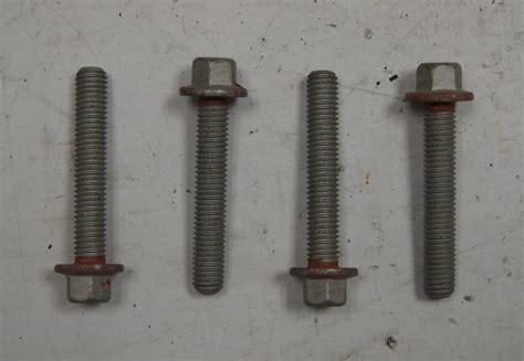 gm main bearing cap bolts pcs  oem xx