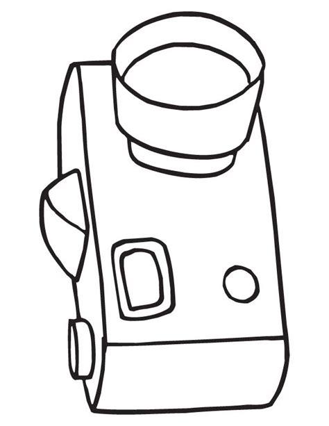 camera coloring page download free camera coloring page