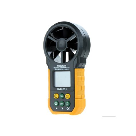 wind speed test hyelec ms6252b wind speed test meter multifunction digital
