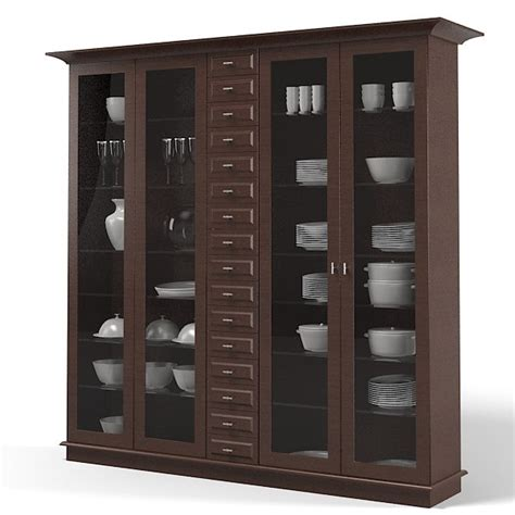 kitchen display cabinet siematic 3d models