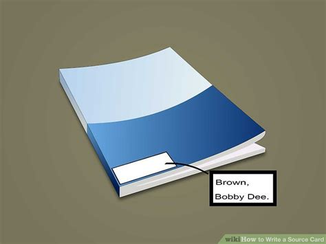 how to make source cards 5 ways to write a source card wikihow