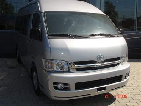 2008 Toyota Hiace For Sale 2008 Toyota Hiace Pics 2 5 Gasoline Manual For Sale