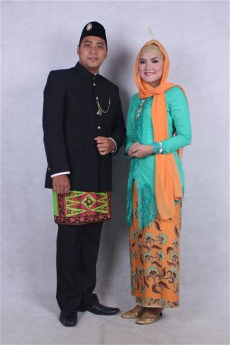 Nl1025rd Baju Pakaian Wanita 1 budaya indonesia 3 jenis pakaian adat betawi