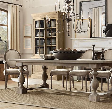 grey acacia dining table 17th c monastery dining table grey acacia finish