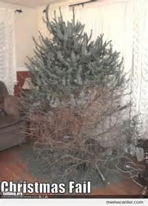 christmas tree fail by ben meme center