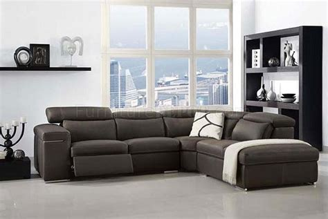 charcoal grey leather sectional sofa hereo sofa