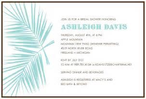 Invitation contest design entry west palm bridal shower invitation