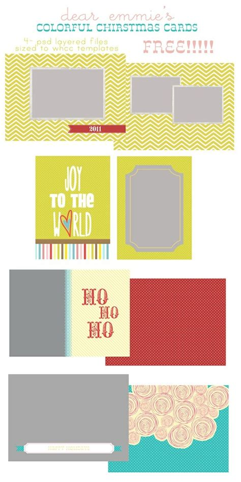 free printable christmas cards pinterest free christmas card templates