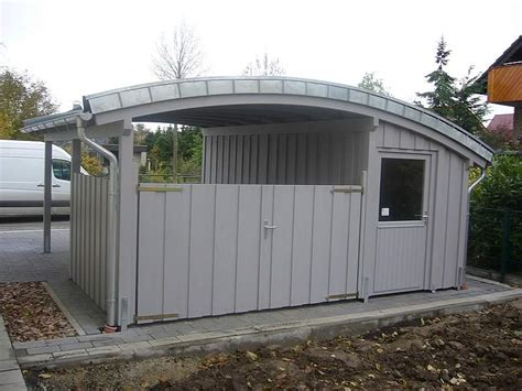 carport tonnendach tonnendach carport in rheda wiedenbr 252 ck pollmeier