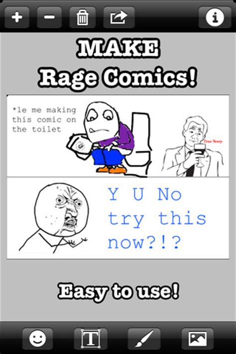 Rage Meme Maker - rage comics maker download free