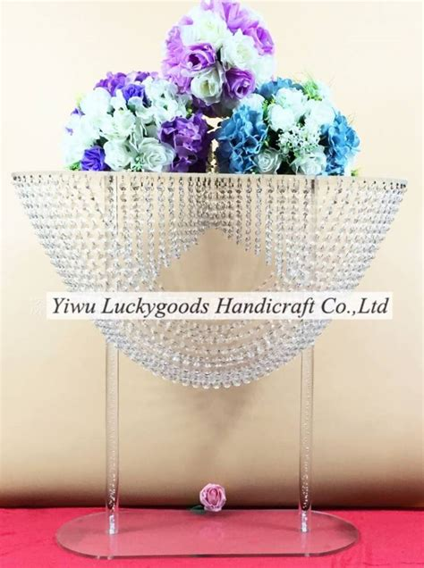 large oval wedding table centerpiece acrylic