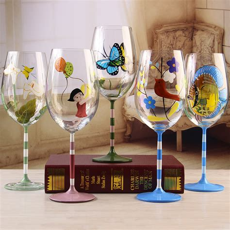 azulejo red wine frosted wine glass reviews online shopping frosted wine