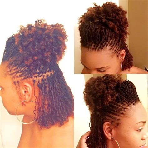 sisterlocks pin up hairstyles 2600 best images about sisterlocks on pinterest black