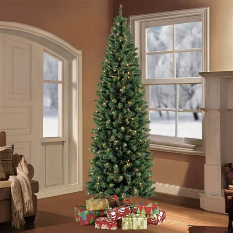 75 holiday time pre lit linden fir artificial christmas tree puleo 7 5 ft pre lit northern fir artificial tree with 350 clear lights 277 nfgpt