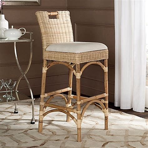 bed bath and beyond fremont buy safavieh fremont barstool in natural from bed bath