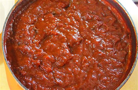 easy and thick tomato sauce be mindful be human