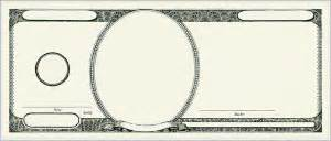dollar bill template best photos of create your own money template printable