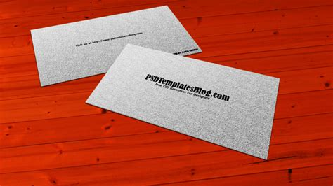 simple business card template free top new business card mockup templates for free