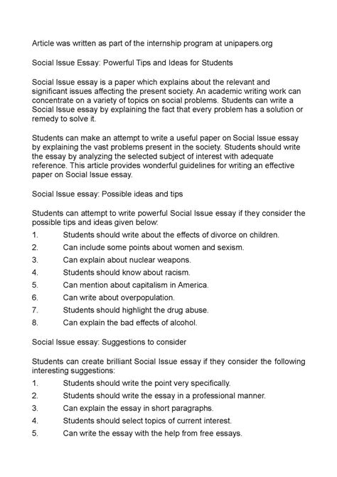 social issue essay rad tech resume objective obesity in children