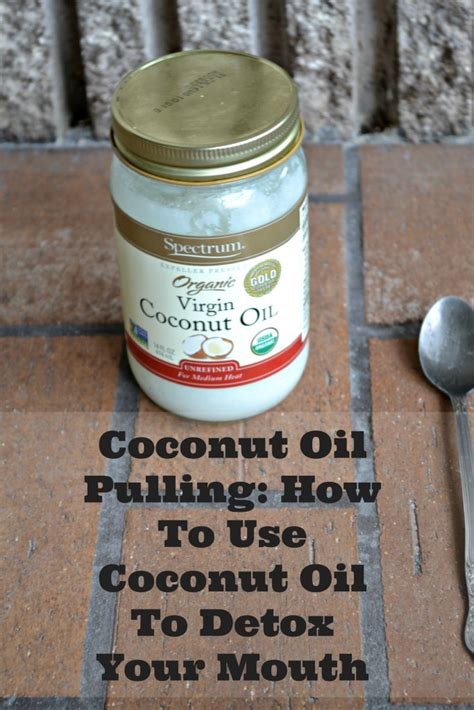 Pulling Detox With Coconut detox archives 40 and