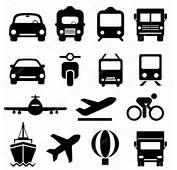 Transportation Icon Set — Stock Vector &169 Soleilc 34323783