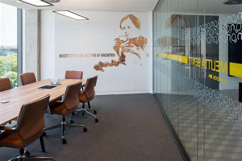 environmental graphic design linkedins emea hq office