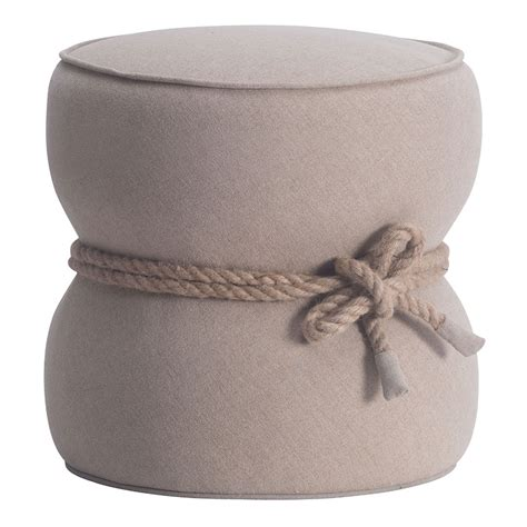 Ottoman Beige Tippy Beige Contemporary Ottoman Collectic Home