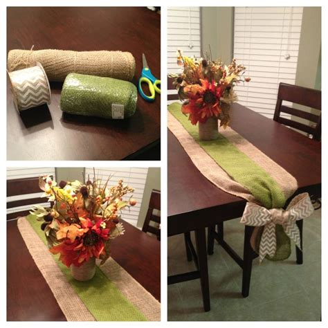 holiday runner ideas 17 best ideas about burlap runners on pinterest