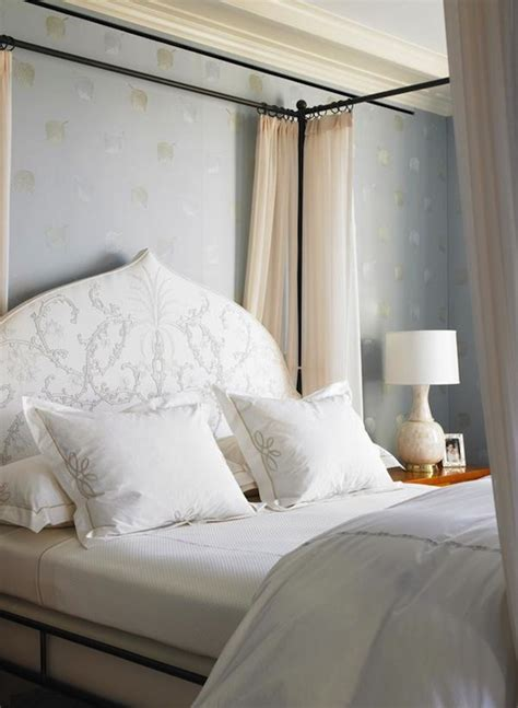 canopy bed headboard canopy bed with headboard transitional bedroom katie