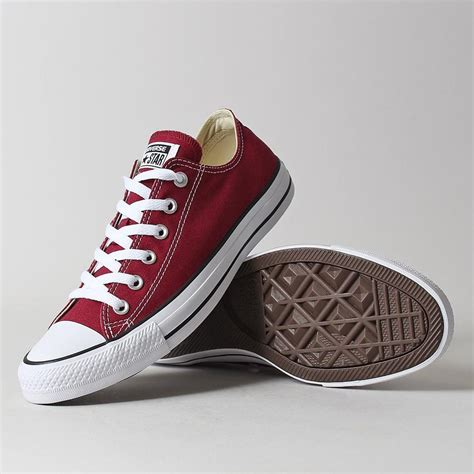 Sepatu Converse All Maroon 1 converse all ox shoes maroon industry