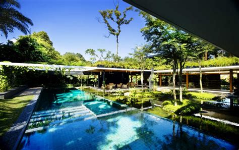 beautiful green roof garden home singapore beautiful luxury sustainable green roof house design singapore