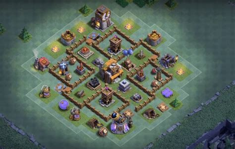 coc layout star 5 bh5 base layouts for builder hall 5 anti 2 star