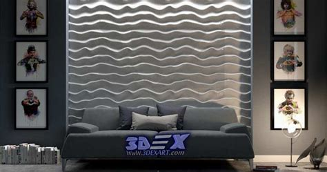 Decorative 3d gypsum wall panels and plaster wall paneling