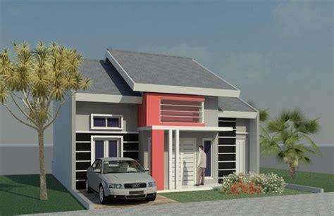 contoh warna cat rumah minimalis tampak depan