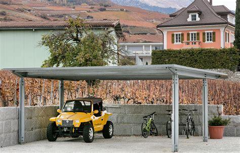 dachkonstruktion carport carport stoffel metallbautechnik ag