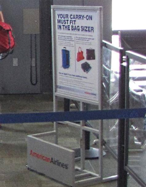 american checked bag fee stop checking bags to stop paying baggage fees
