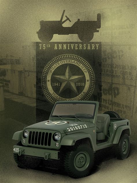 jeep country jeep wrangler 75th salute concept wants to serve its country