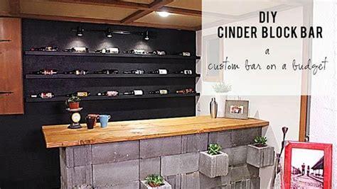 diy concrete cinderblock bar  knock     garden bar garden pinterest