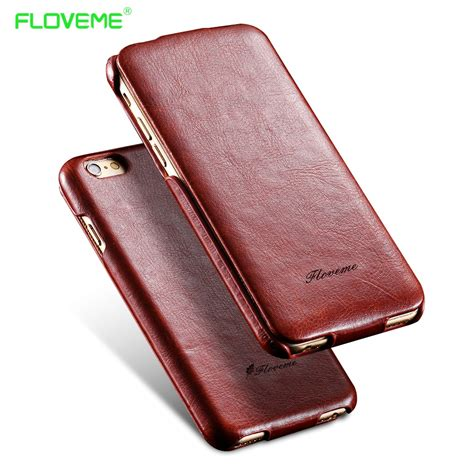 Casing Iphone 5g 1 floveme i5 6s flip pu leather for apple iphone 5 5s 5g se 6 6s ultra protection phone