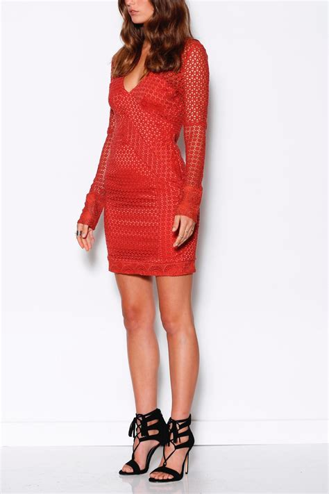 Dress Model Style Impor 30 ministry of style terracotta lace dress from western