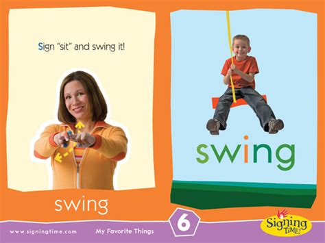 sign for swing sign of the week swing signing time