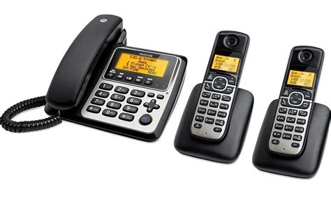 motorola m803c dect 6 0 cordless corded telephone 2