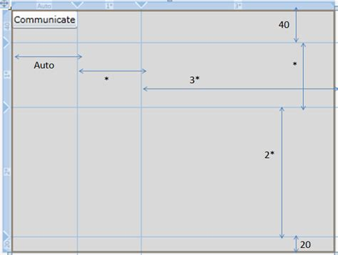 grid layout set height silverlight grid layout
