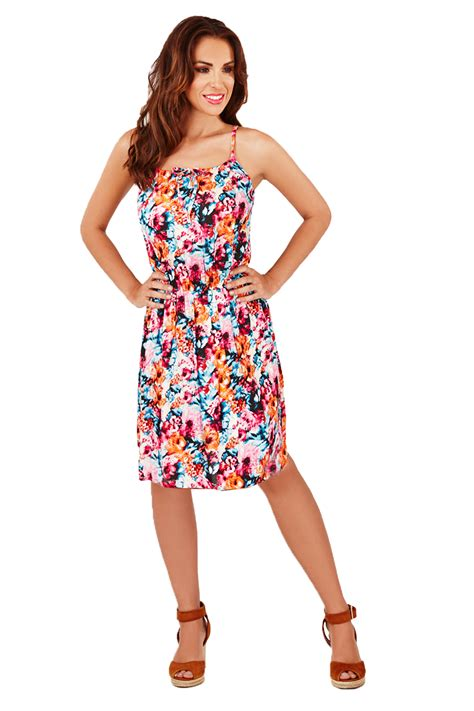 Print Strappy Dress pistachio womens floral animal print dress strappy