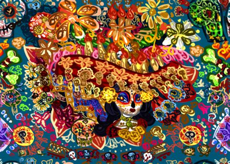 wallpaper batik art la muerte batik by toteczious on deviantart