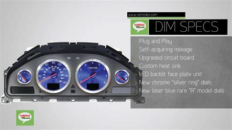 xc70 volvo dim instrument cluster dash dashboard lcd repair service ebay xemodex drivers information module for volvo instrument cluster s60 v70 s80 xc70 dim youtube