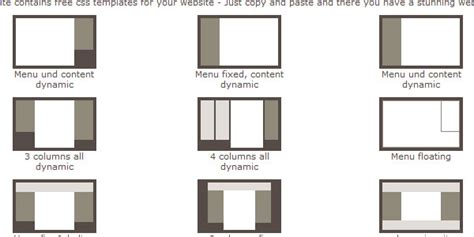 css layout outline nice website layout templates contemporary wordpress