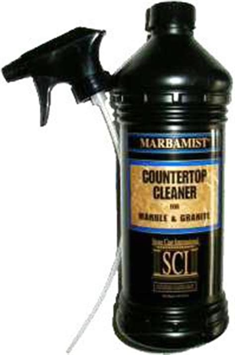 Cleaner For Granite Countertops by Marbamist Countertop Cleaner For Granite
