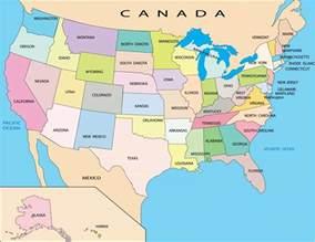 cartina degli usa mappa dei 50 stati e schede